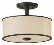 Feiss SF251-DBZ Casual Luxury Semi-Flush Ceiling Light in Dark Bronze