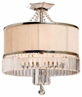 Artcraft AC743 Newcastle Semi-Flush Ceiling Light