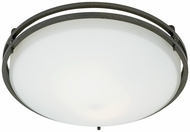 Quoizel OZ1613IN Ozark Contemporary Flush Mount Ceiling Light - 13 inches
