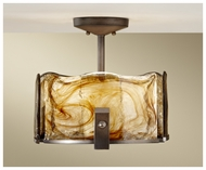 Feiss SF299RBZ Aris Modern Semi-flush Mount Ceiling Light