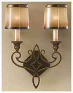 Feiss WB1473ASTB Justine Wall Sconce