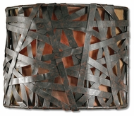 Uttermost 22463 Alita Wall Sconce in Black