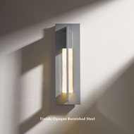 Hubbardton Forge 30-6401 Axis Small 15 Inch Tall Outdoor Sconce