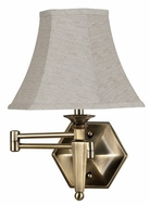Kenroy Home 20618GBRZ Mackinley Swing Arm Lamp
