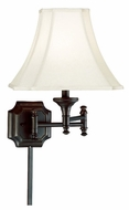 Kenroy Home 33054BBZ Wentworth Swing Arm Lamp
