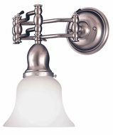 Hudson Valley 342 Adjustables Swing Arm Vanity Wall Sconce