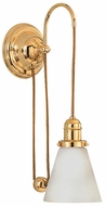 Hudson Valley 3121-505M Rise and Fall Swing Arm Wall Sconce
