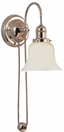 Hudson Valley 3121-341 Rise and Fall Swing Arm Wall Sconce
