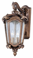 Maxim 40223CNWN Bastille VX Medium 19 Inch Tall Traditional Exterior Sconce - Walnut