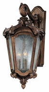 Maxim 40224CNWN Bastille VX Large 23 Inch Tall Walnut Exterior Wall Lamp
