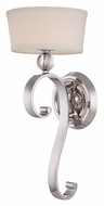 Quoizel UPMM8701IS Uptown Madison Manor 20 Inch Tall Imperial Silver Transitional Wall Light