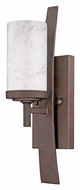 Quoizel KY8701IN Kyle Transitional Iron Gate Finish Wall Lighting - 16 Inches Tall