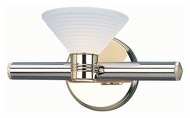 Lite Source LS1123 Regal 6 Inch Tall Polished Brass Finish Wall Lighting Fixture