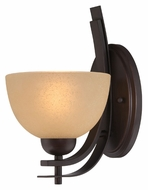 Lite Source LS16491 Frenchie Aged Bronze Finish 11 Inch Tall Lighting Sconce - Transitional