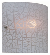 Lite Source LS16958WHT Piera White Finish 8 Inch Wide Transitional Wall Lighting