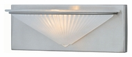 Lite Source LS16331PS/FRO Damon 12 Inch Wide Polished Steel Finish Wall Lighting Fixture