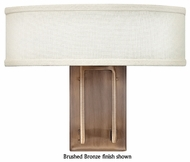 Hinkley 3202 Hampton Contemporary Flush Mount Wall Sconce