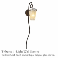 Kalco 4305 Tribecca 1-Light Wall Sconce