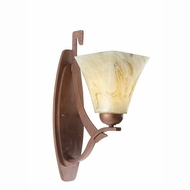 Kalco 4341 Copenhagen 1-Light Wall Sconce