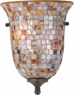 Monterey Mosaic Flush Mount Wall Sconce
