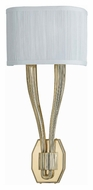 Crystorama 582-PB Sterling Transitional Polished Brass 22 Inch Tall Wall Lighting