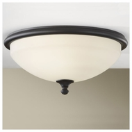 Feiss FM358BK Merrit Contemporary Flush-Mount Ceiling Light