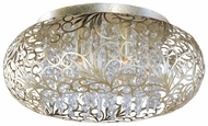 Maxim 24150BCGS Arabesque Large Modern Crystal Flush Mount Ceiling Lighting