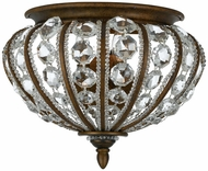Quoizel EP8802BO Empire Two Light Flush Mount Ceiling Fixture