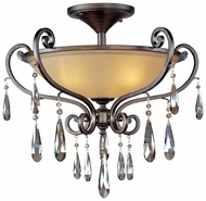 Maxim 14302COHR Chic Traditional Crystal Ceiling Lighting