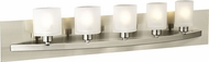 PLC 645 Wyndham Contemporary 5 Light Bathroom Light Fixture