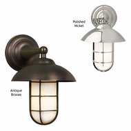 Tech 600ADMCW Admiral Classic Wall Sconce - Nautical Style