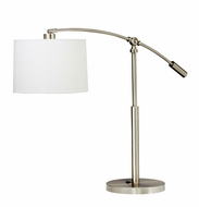 Kichler 70756 Cantilever Modern Style Brushed Nickel Adjustable Height Table Lamp