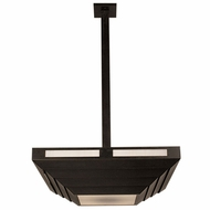 Arroyo Craftsman CACH22 Cascade 22  Modern Craftsman Pendant Light