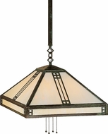 Arroyo Craftsman PSH-18 Prairie Craftsman Pendant Light - 43.625 inches tall