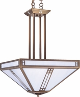 Arroyo Craftsman PCCH-18 Prairie Craftsman Pendant Light - 62.5 inches tall