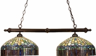 Meyda Tiffany 18841 Candice 2 Light Kitchen Island Ceiling Light