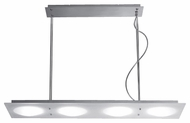 Kenroy Home 90885SNI Angoli Modern Halogen Kitchen Island Light