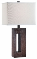 Lite Source LS21818 Bethany Wooden Contemporary Table Lamp