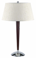 Lite Source LS2010-C-CHERRY Stratford Cherrywood Wooden Table Lamp
