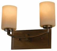 Feiss VS15902HTBZ Preston 2-Lamp Vanity Light