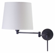 House of Troy TH725-OB Townhouse Swing Arm Oil Rubbed Bronze Wall Lamp Lighting