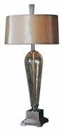 Uttermost 26652 Celine Iridiscent Crackled Glass 38 Inch Tall Table Lamp For Living Room