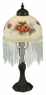 Meyda Tiffany 37507 Rose Bouquet 17 Inch Tall Accent Table Light