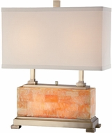Lite Source LSEL-30043 Elliot 19 Inch Wide 2 Light Transitional Marble Table Lamp