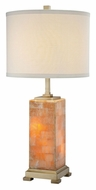 Lite Source LSEL-30044 Quinn Transitional 16 Inch Diameter Marble Table Light