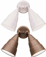 Kichler 6052 Double Outdoor Positionable Spotlights