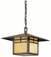 Kichler 9824CV La Mesa 12 Inch Diameter Craftsman Pendant Lighting Fixture - Canyon View