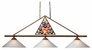 Landmark 661033 15-Ball Contemporary Billiard Light
