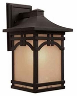 Artcraft AC8061 Courtyard Large Craftsman Outdoor Wall Sconce