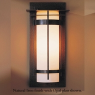 Hubbardton Forge 30-5993 Banded Outdoor Medium Top Plate Sconce